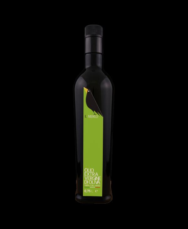bottiglia 0,75_Il MerloOlioExtraVerginediOliva