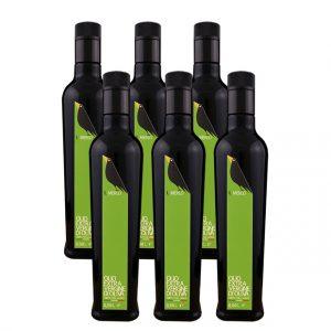 Cartone da 6 bottiglie - 0,50L Il Merlo Olio Extra Vergine di Oliva